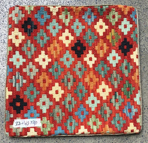 Hand knotted Cushion cover 32 size 40 x 40 cm Afghanistan