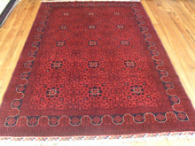Load image into Gallery viewer, Hand knotted wool Rug 4340 size 295 x 199 cm Afghanistan