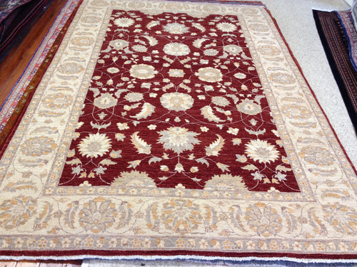 Rug 9 size 306 x 206 cm,  ZIGLER Afghanistan handmade rug, made with hand-spun wool & natural dyes, suitable for any type of home!