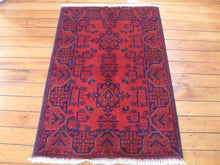 Load image into Gallery viewer, Hand knotted wool Rug 25 size 119 x 77 cm Afghanistan