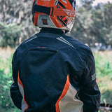Textile Motorbike Dualsport Enduro Biker Riding Jacket All-Weather