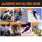 HWK Full Body Armor Motocross ATV MTB Dirt Bike Skating Tactical Protective Gear