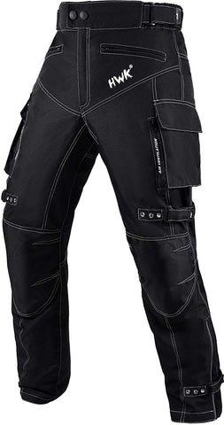 Motorcycle Pants Dualsport Waterproof CE Armored All-Weather