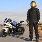 Textile Motorcycle Jacket Breathable CE ARMORED WATERPROOF