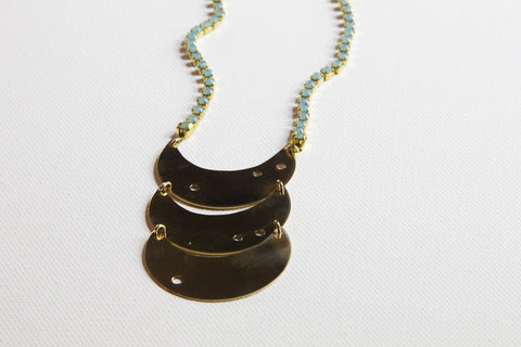 Handcrafted Celestial Ladder Necklace