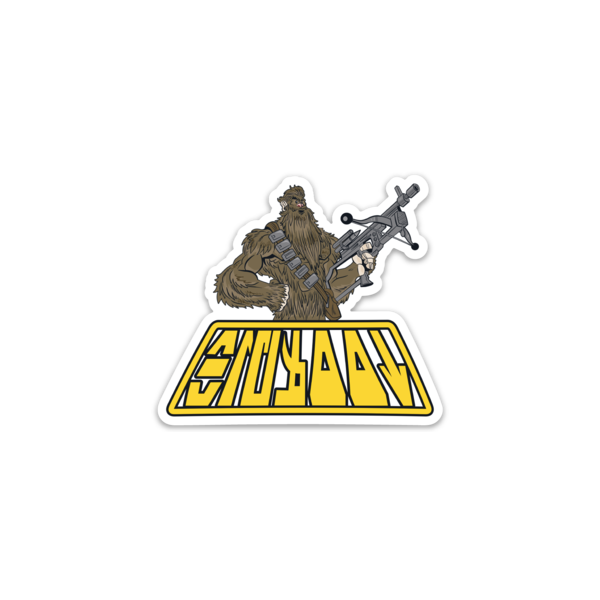 Bigfoot Wookie Sticker