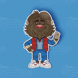 Bigfoot McFly Sticker