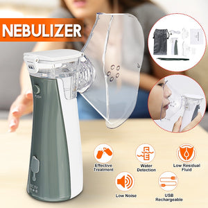 Mini Handheld Inhaler Nebulizer | Asthma Steaming Device