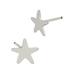 Star Stud Earrings - Gold or Silver