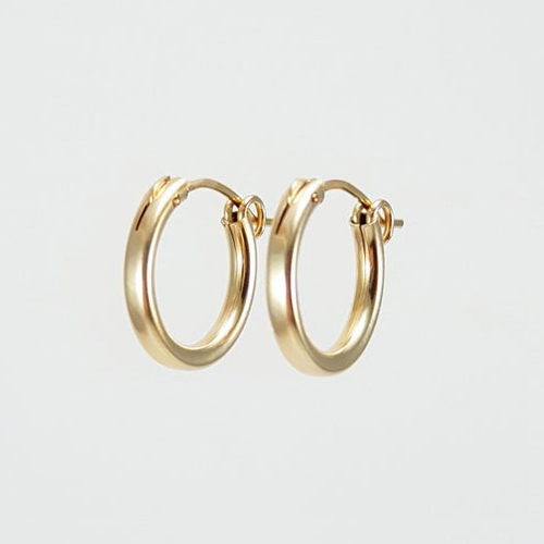 Small Hoop Earrings - Gold or Silver