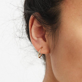 Medium Hoop Earrings - Gold or Silver