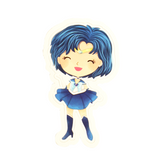 Sailor Mercury Vinyl Sticker Decal