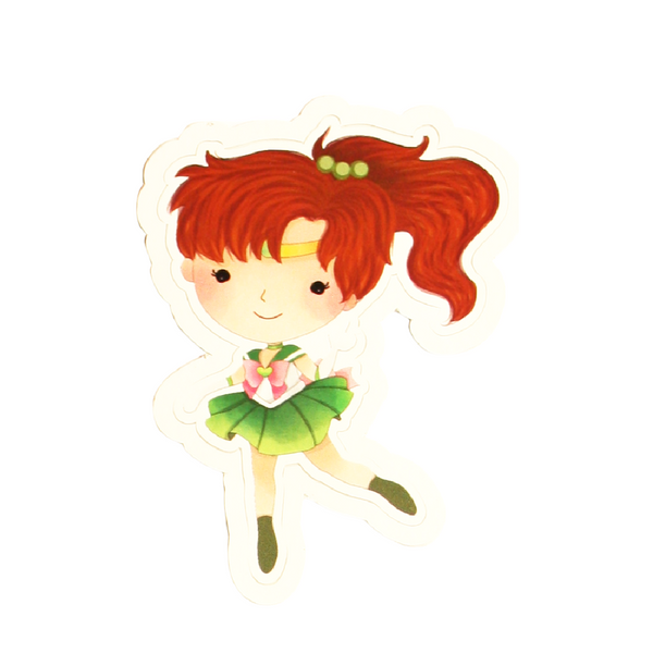 Sailor Jupiter Vinyl Sticker Decal