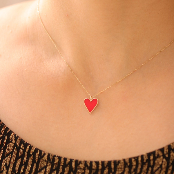 Heart to Heart Charm Necklace