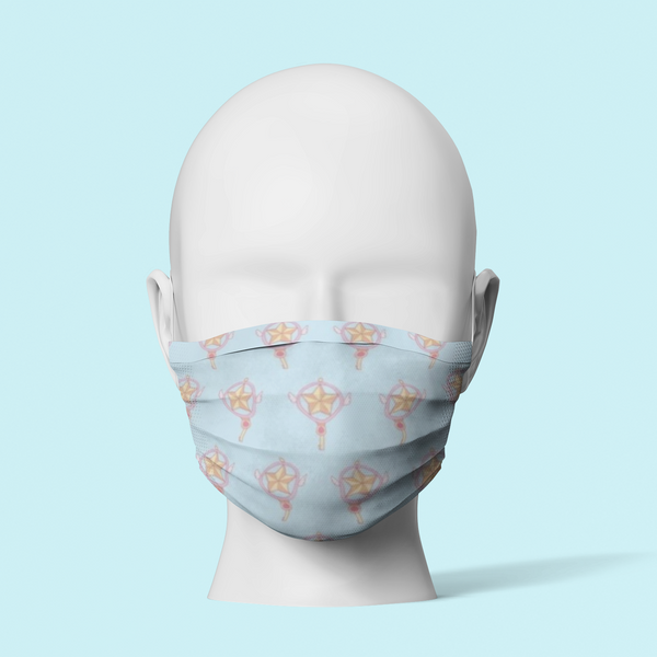Sailor Scout Blue - Face Mask