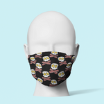 Eggs & Bacon Forever - Traditional Face Mask   (In Stock)
