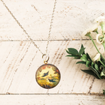 Songbirds Locket Necklace