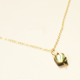 Abalone and Pearl Gem Necklace