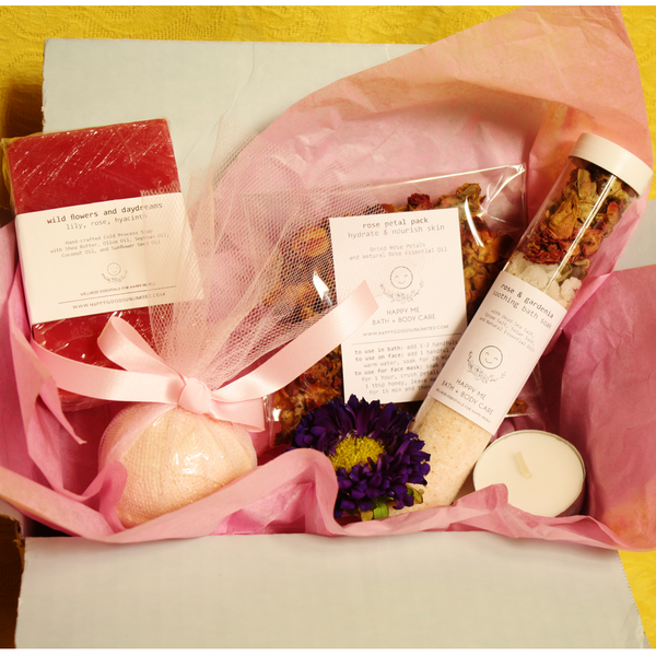 Rose Spa Bath - Thinking of You Gift Set