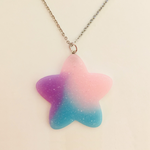 Pastel Star Necklace - Purple