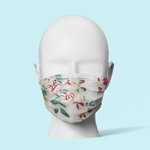 Floral (Assorted Designs) - Traditional Face Mask  (In Stock)