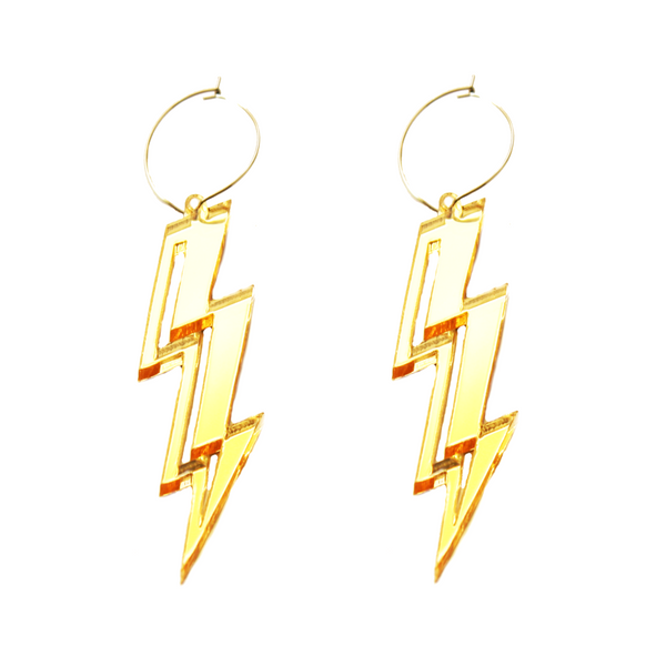 Lightning Bolt Hoop
