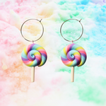 Pastel Rainbow Lollipop Hoop