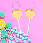 Heart Lollipop Earring Hoop