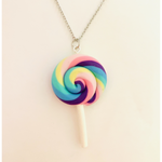 Pastel Lollipop Necklace