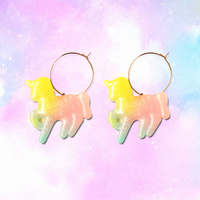 Pastel Unicorn Hoops