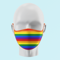 Pride - Traditional Face Mask  (In Stock)