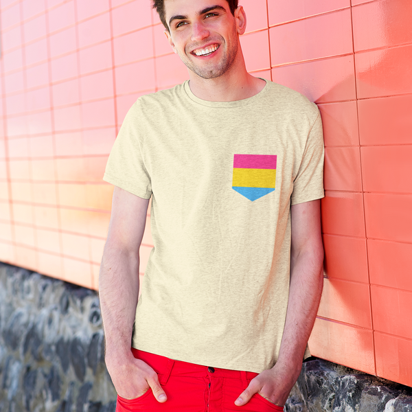 Pan Pride Pocket Tee Shirt