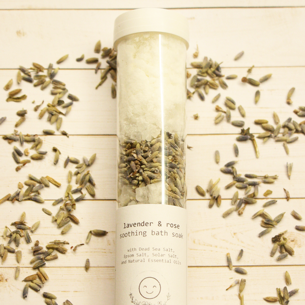 Lavender & Rose Bath Salt Soak