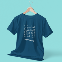 Humanity Navy Tee Shirt