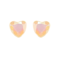 Pastel Holographic Heart Earring