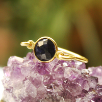 Lapis Gold Ring