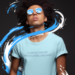 Manifesting Light Blue Tee Shirt