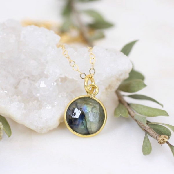 Labradorite Gem Necklace