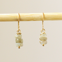 Triple Labradorite Earrings