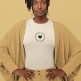Love is Power Oatmeal Tee Shirt