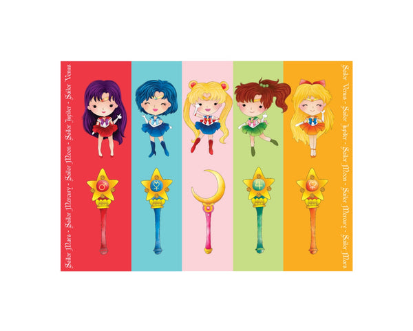 Sailor Moon Art Poster