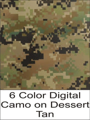6 Color Digital Camo