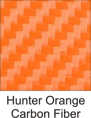 Hunter Orange Carbon Fiber
