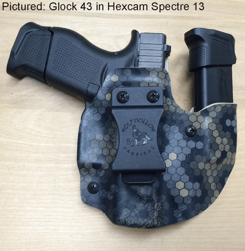 hexcam spectre 13, wolf pack aiwb, sidecar holster