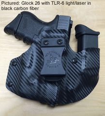 Glock 26 wolf pack aiwb holster, sidecar holster