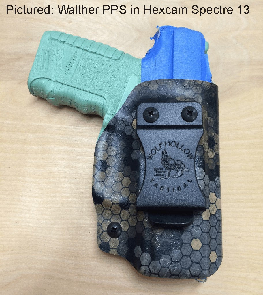 Walther PPS holster, Hexcam Spectre 13