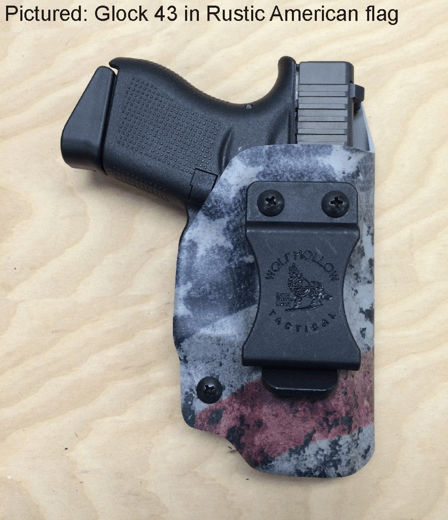 Inside the Waistband Kydex Holster, Glock, S&W, Springfield