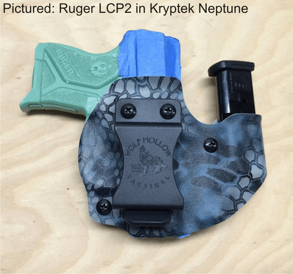 Ruger LCP2 wolf pack aiwb holster, sidecar holster