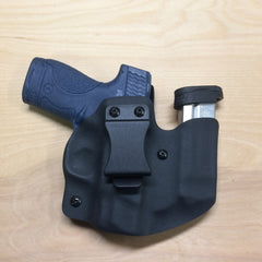 S&W Shield in Wolf Pack AIWB in black Kydex