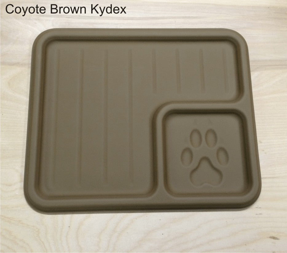 Coyote brown edc tray